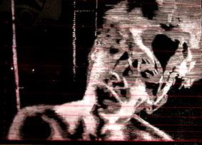 DYSONANS I, 100 x 140, akryl na pleksi, 2007
