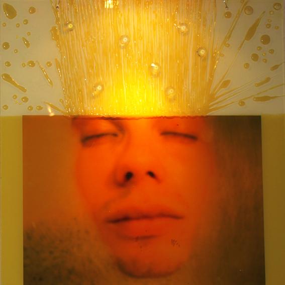 FANTASMES ET FÉTICHES, 50 x 50, acrylique, plexiglas, photo, 2009