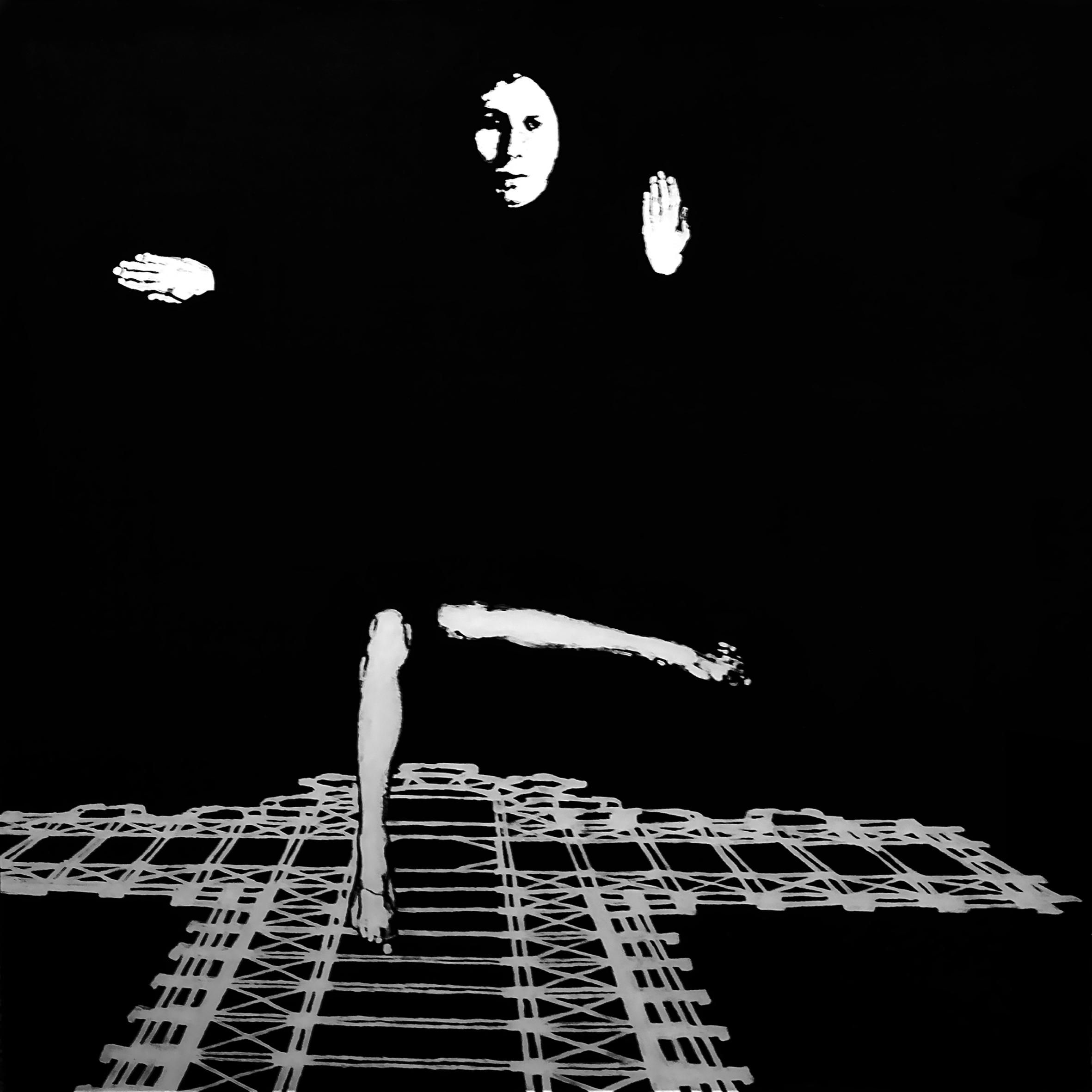 Corpus Christi/corpus delicti, 100 x 100, akryl na pleksi, 2011