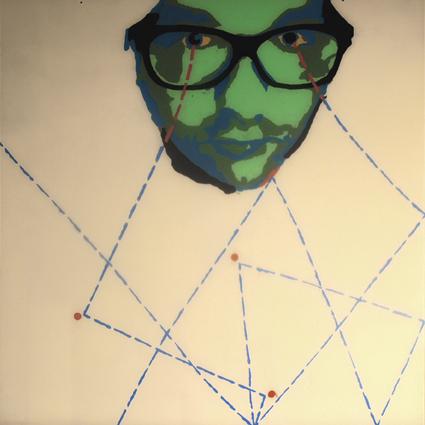 PORTRAIT FACTORY - Piotr Rosół, 100 x 100, acrylique sur plexiglas, 2011