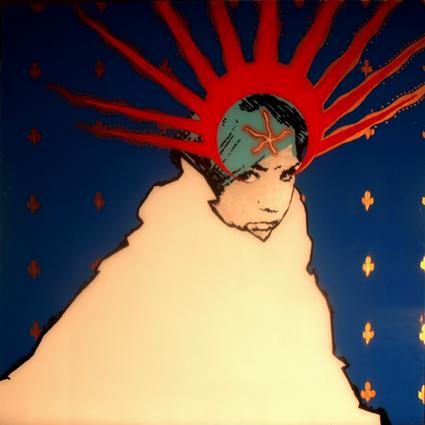 FABRYKA PORTRETU - Dorota Sobstel, 100 x 100, akryl na pleksi, 2011
